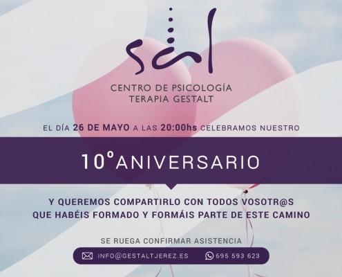 Invitación aniversario